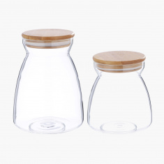 Panache 2-Piece Jar Set