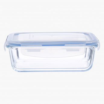 Crest Rectangular Food Container - 0.8 L