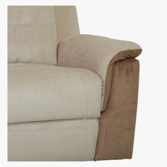 Bondi 3 Seater Recliner Sofa Multicolour Fabric