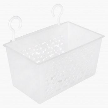 Rectangular Basket with Hooks
