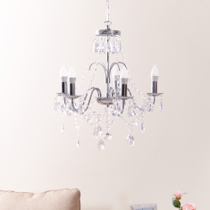 Royale Embellished 5-Light Chandelier - 50 cms
