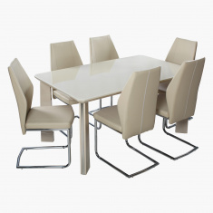 Costa 6-Seater Dining Table Set