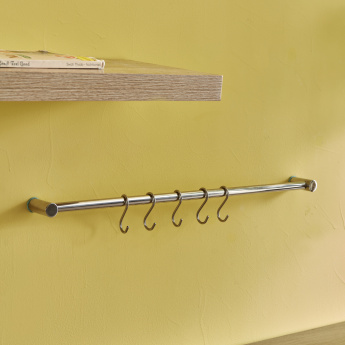 Berlyn Kitchen Bar with 5 Hooks