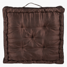 Dupioni Floor Cushion - 50x50 cms