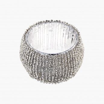Blaze Beaded Napkin Ring - Set of 4
