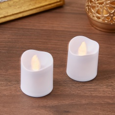 LED Candle - Set of 2