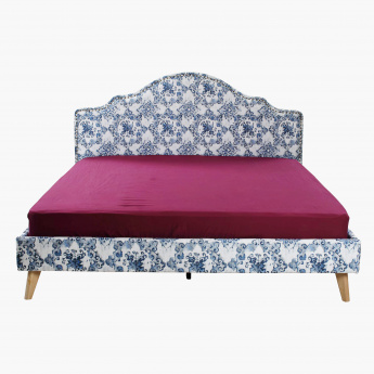 Fabricio Fabric King Bed - 180x200 cms