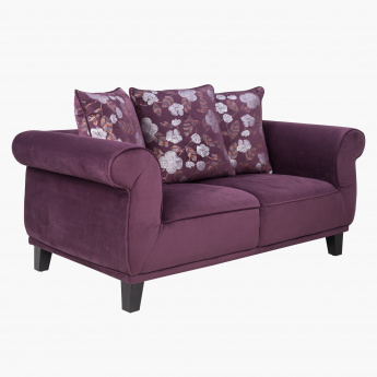 Radlix 2-Seater Sofa with 3 Cushions
