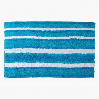 Sabi Striped Bath Mat -50x80 cms