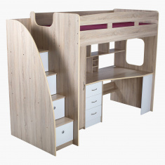 Costagat Xmore Loft Storage Bunk Bed - 90x190 cms