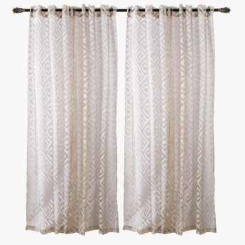 Eliza Sheer Curtain- Set of 2