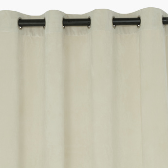Dove Curtain Pair with Eyelets - 140x300 cms
