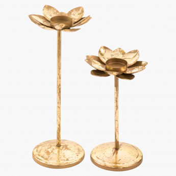 Lotus Tea Light Holder - Set of 2