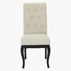 Emotion Button Detail Dining Chair