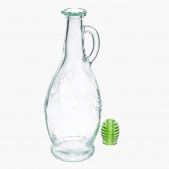 Decorated Olive Oil Bottle - 750 ml