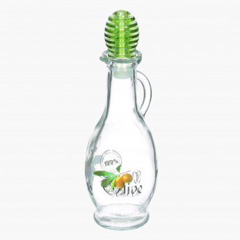 Decorated Olive Oil Bottle - 250 ml