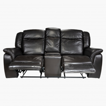 Lexi 2-Seater Recliner Sofa with Cup Holder