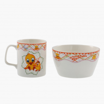 Duck Mug and Bowl Set