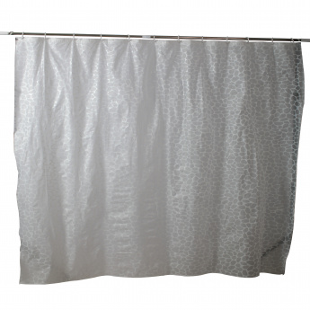 Mica Shower Curtain with 12 Hooks