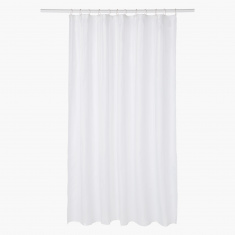 Himalaya Shower Curtain with 12 Hooks