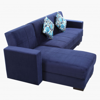 Bercy Corner Sofa Bed with 2 Cushions