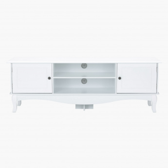 Queen Anne Low TV Unit for TVs up to 65 inches