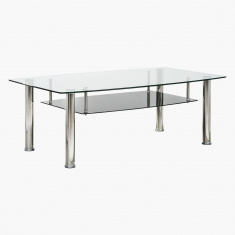 Matilda Maya Coffee Table with Undershelf