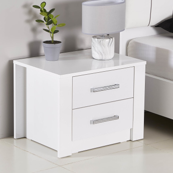 Snowy 2-Drawers Night Stand