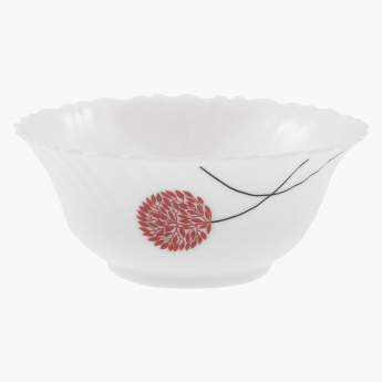 Scarlet Soup Bowl