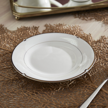 Gold Rib Side Plate - 19 cms