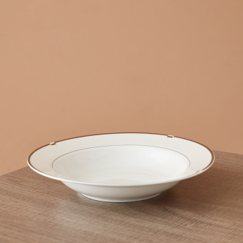Gold Rib Soup Plate - 20 cms