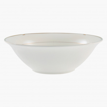 Gold Rib Salad Bowl - 23 cms