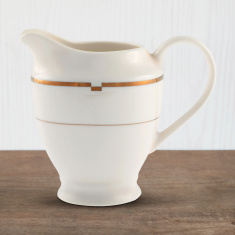 Gold Rib Milk Pot