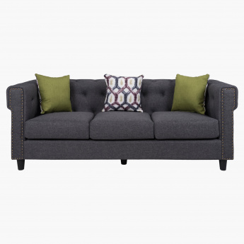 Wendy 3-Seater Sofa with 3 Cushions
