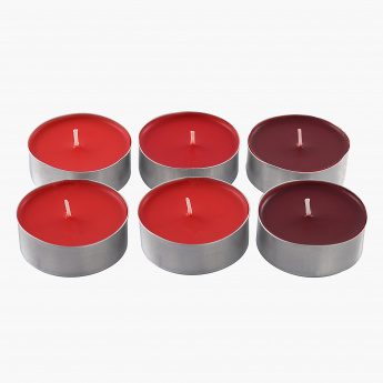 Frisca Scented Candles - Set of 6