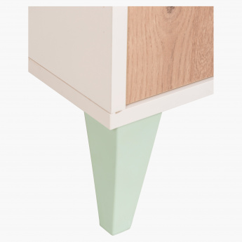 Morocco Minty Study Desk with Hutch