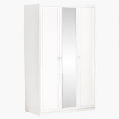 Melissa 3-Door Wardrobe with Mirror