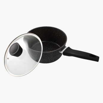 Prime Stone Sauce Pan with Lid - 20 cms