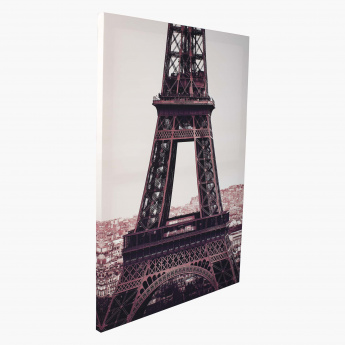 Sepia Paris Print Canvas