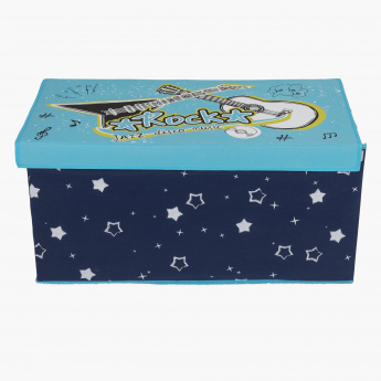 Knight Boys Storage Box - 75X37x37 cms
