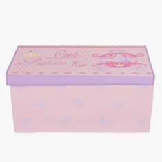 Butterfly Girls Storage Box - 75X37x37 cms