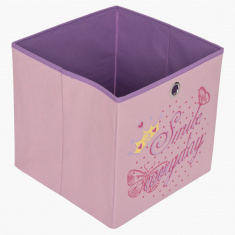 Butterfly Girls Cube Box - 31x31x31 cms