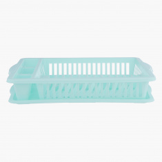 Velvet Dish Drainer with Tray