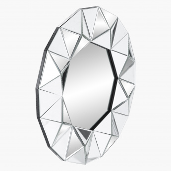 Bevel Decorative Round Wall Mirror