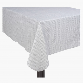 Weave Table Cloth - 152x259 cms