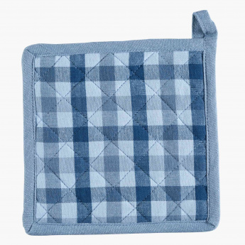 Derby Chequered Pot Holder