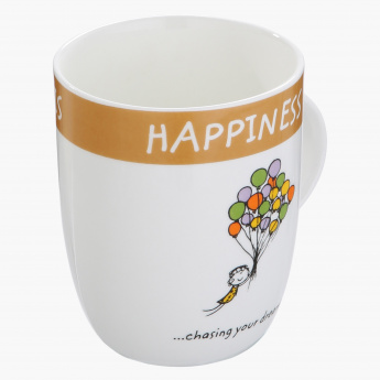 Happiness is Chasing your Dream Mug - 355 ml