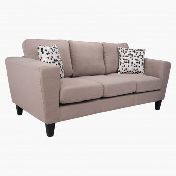 Tria 3-Seater Sofa with 2 Cushions