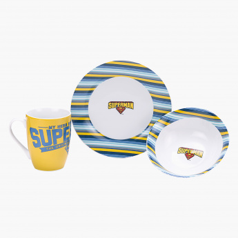 Superman 3-Piece Breakfast Set