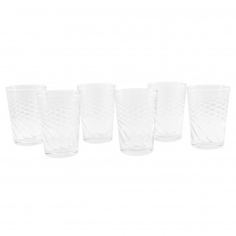 Crystal Filiz 6-Piece Tumbler Set - 205 ml